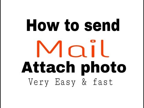 how to send mail and attach photo in bangla toturial