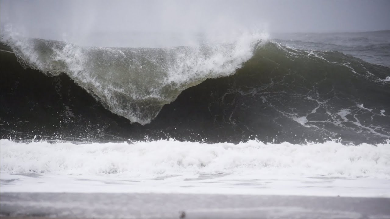 Winter Storm Delivers Tube Caverns in New Jersey!