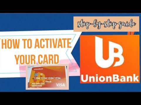 How To Activate Your Card|Union Bank App|Myra Mica