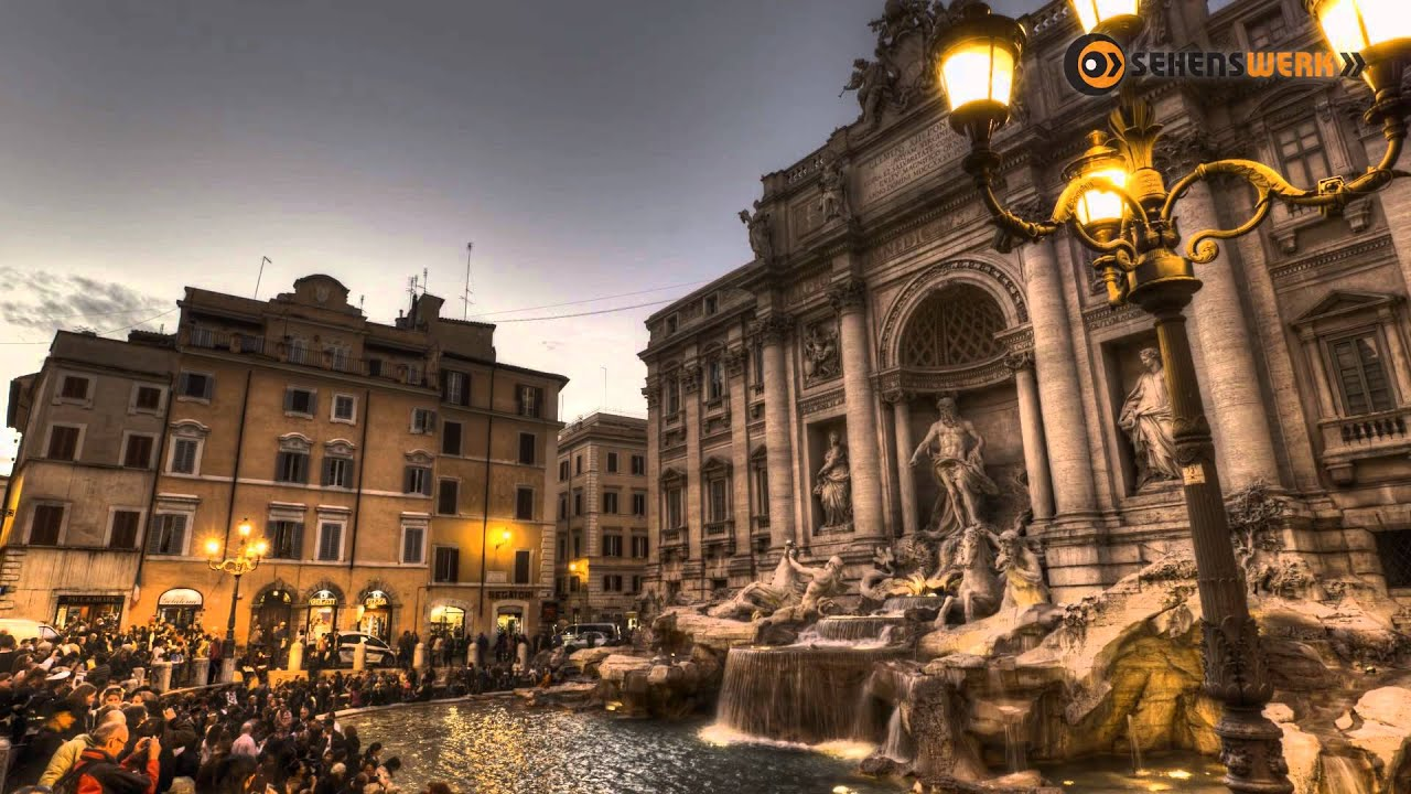 Wallpaper Desktop 3d Animation Hdr Time Lapse Rome Youtube