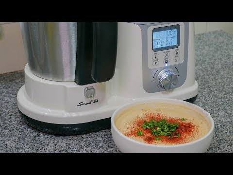 Smart-Tek Thermomixer + receta hummus casero
