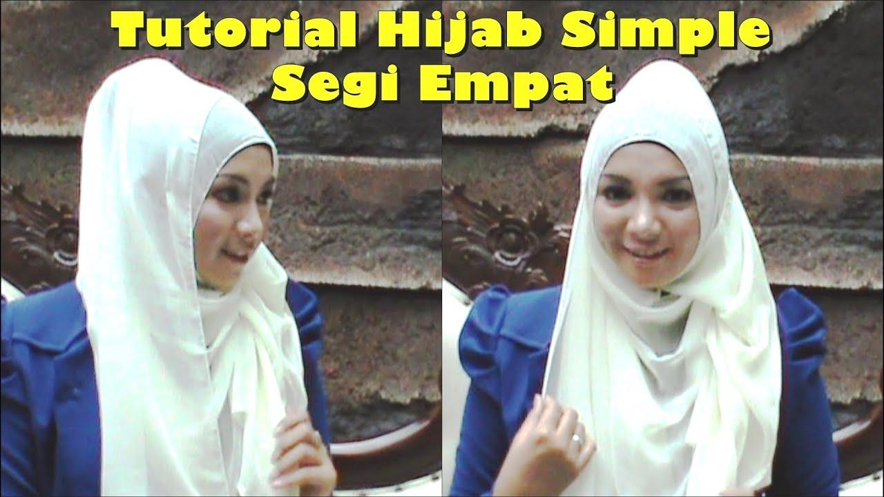 Tutorial Hijab Simple Casual Segi Empat By Revi 135 YouTube