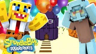 Spongebob Minecraft - Spongebob's Surprise Party! [2]