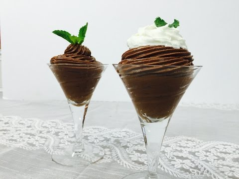 3 Ingredient Instant Chocolate Mousse With Raihana's Cuisines