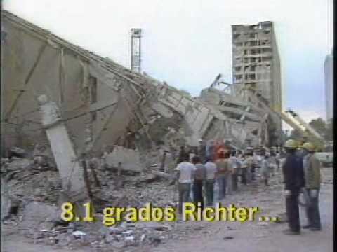 Terremoto Del 57 Y 85 Atlas De Riesgos 2007 Youtube