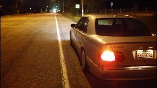 Mercedes STUCK SHIFTER; ABS ON; BAS/ESP ON; NO BRAKE LIGHTS!
