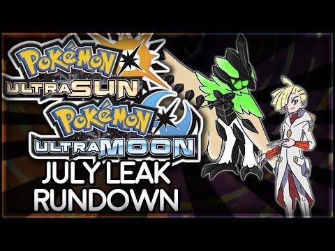 Pokémon Ultra Sun and Ultra Moon | July Leak Rundown