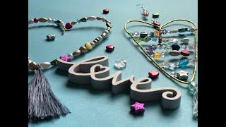 DIY Perlenherz mit Draht für Valentinstag, Muttertag, Vatertag, Deko oder dich selbst