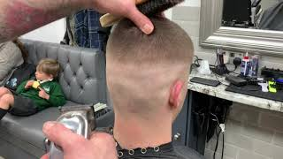 LEARN HOW TO SKIN FADE WITH A GRADE 5 ON TOP. USING WAHL 1919'S, STERLING 2'S AND DETAILER LI'S