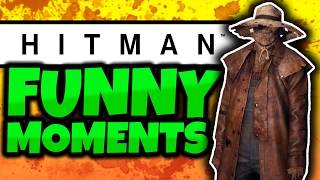 Hitman Funny Moments! - #5 - SCARECROW PRANK! - (Hitman Colorado Gameplay)