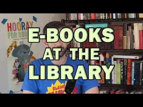 Yes, Libraries have e-Books! But it's, uh, complicated.