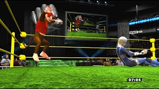 WWE Super Smash Bros. for 3DS/Wii U Sheik vs Diddy Kong