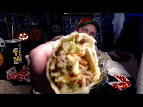 TACO BUENO, BABY! 1/2 MEAL DEMOLITION (mukbang)