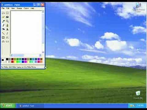 Windows XP: Taking Screen Shots - YouTube