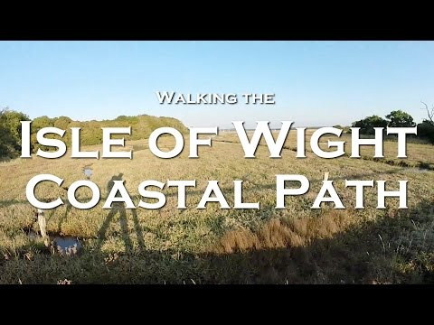 Walking The Isle of Wight Coastal Path - Solo Backpacking Tr