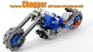 Tutorial for Chopper - Lego Technic 42071 Alternate MOC
