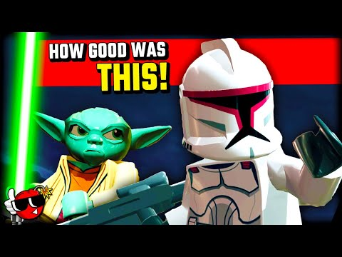 LEGO Clone Wars takes you right back... |