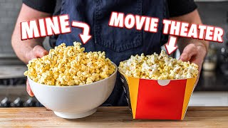 Making Movie Theater Popcorn At Home | But Better