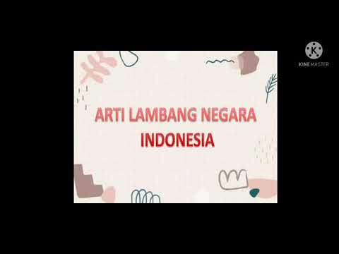 MAKNA LAMBANG NEGARA INDONESIA