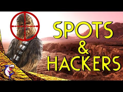 HACKERS + HIDDEN SPOT! | Star Wars Battlefront (Gameplay & Spots)