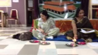 Vilakku Pooja - Dallas Guruvayurappan temple