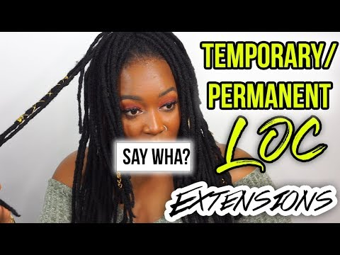 PERMANENT DREADLOCK EXTENSIONS?  | The Basics + My Thoughts