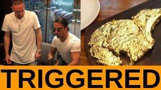 Frank Ribéry GOLD-STEAK Skandal.... TRIGGERED