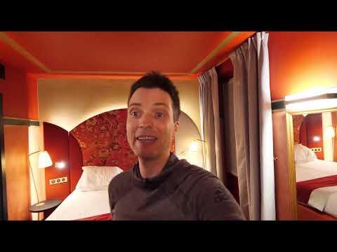 Обзор отеля во Франции - 13 м2 номер и плюшевое лобби