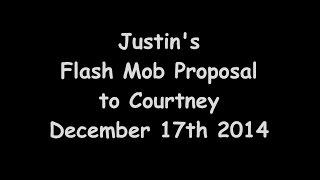 Justin's Disney Flash Mob Proposal to Courtney