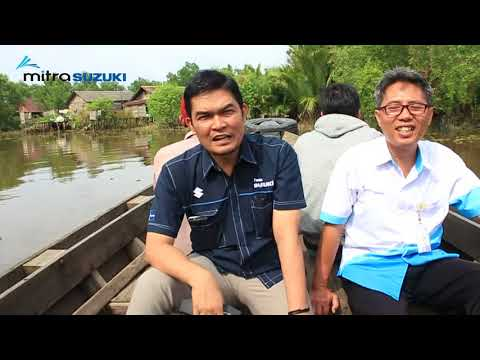 Mitra Suzuki Berbagi Di  Desa Tatah Bangkal