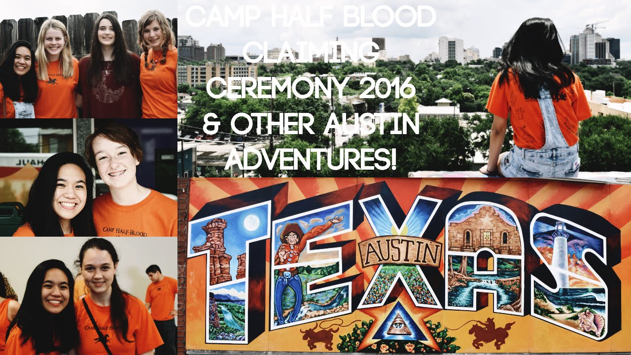 Camp Half Blood Claiming Ceremony 2016 Other Austin Adventures
