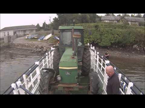 Strangford Barge Video