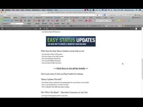 Easy Status Updates Review of Brian Moran
