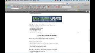 Easy Status Updates Review of Brian Moran