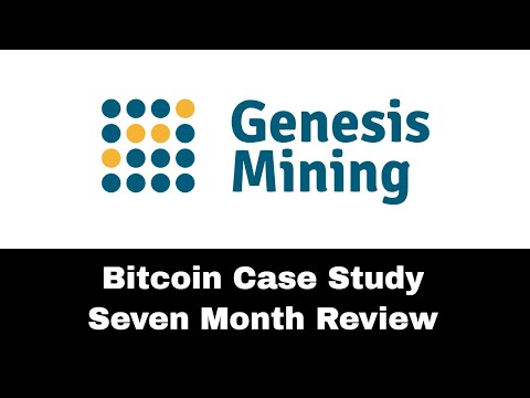 Genesis Mining Bitcoin Case Study - 7 Month Review!