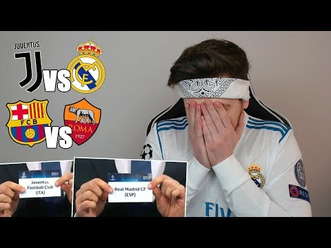 HINCHA del REAL MADRID reacciona al SORTEO de CUARTOS UEFA CHAMPIONS LEAGUE 2018