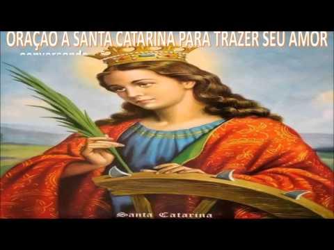 Oração Para Trazer amor de volta - Santa Catarina pa quem sofre no amor