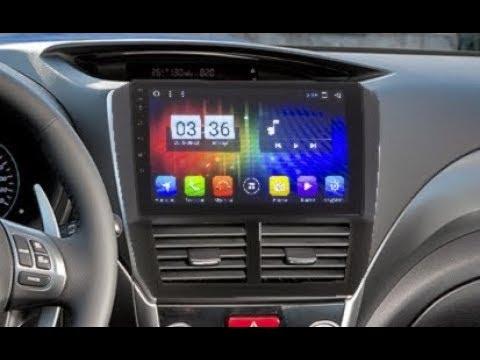 Штатная магнитола Subaru Forester (2008-2012) Android ZOY-3156