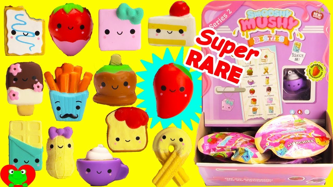 Smooshy Mushy Series 1 Checklist : Smooshy Mushy Besties Series 2 Super RARE Find - YouTube