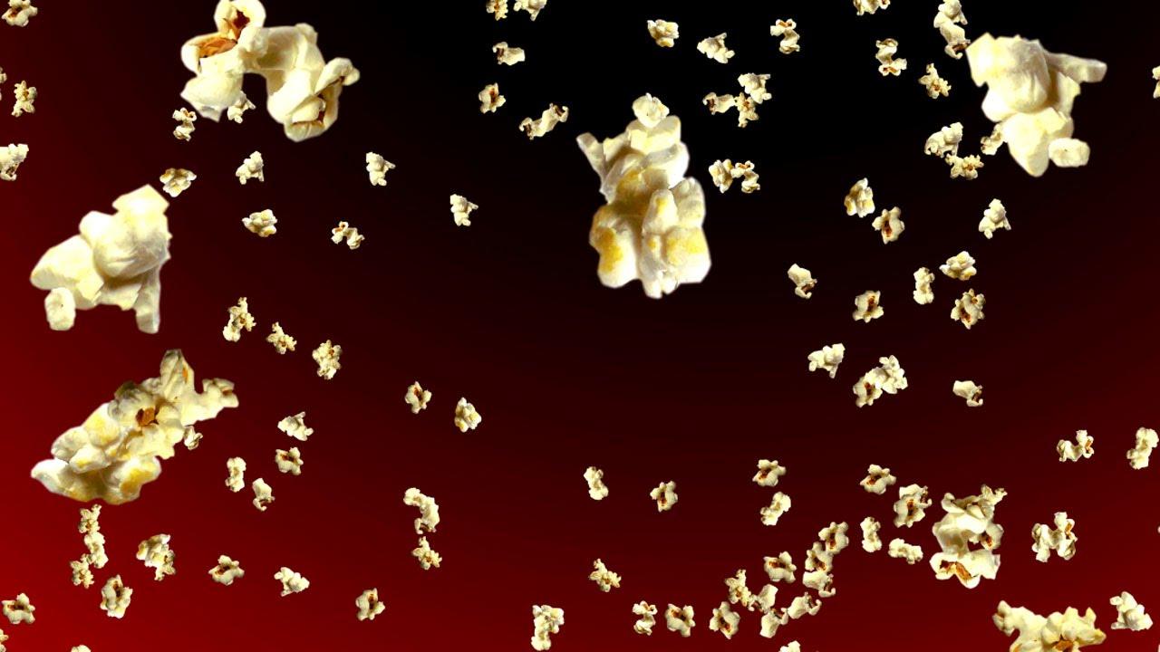 Exploding Popcorn Background - YouTube