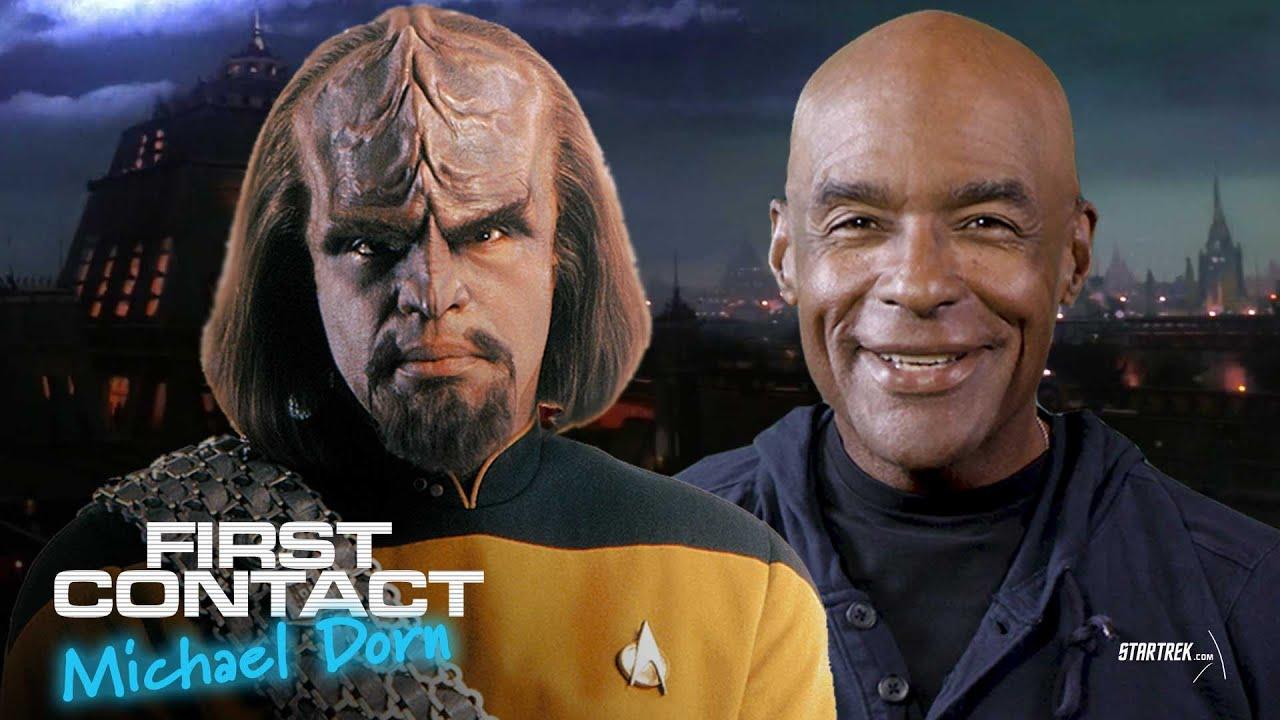 Download First Contact: Michael Dorn AKA Lieutenant Commander Worf | Star Trek