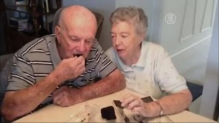 Пара из США 60 лет ест один и тот же свадебный торт (новости)