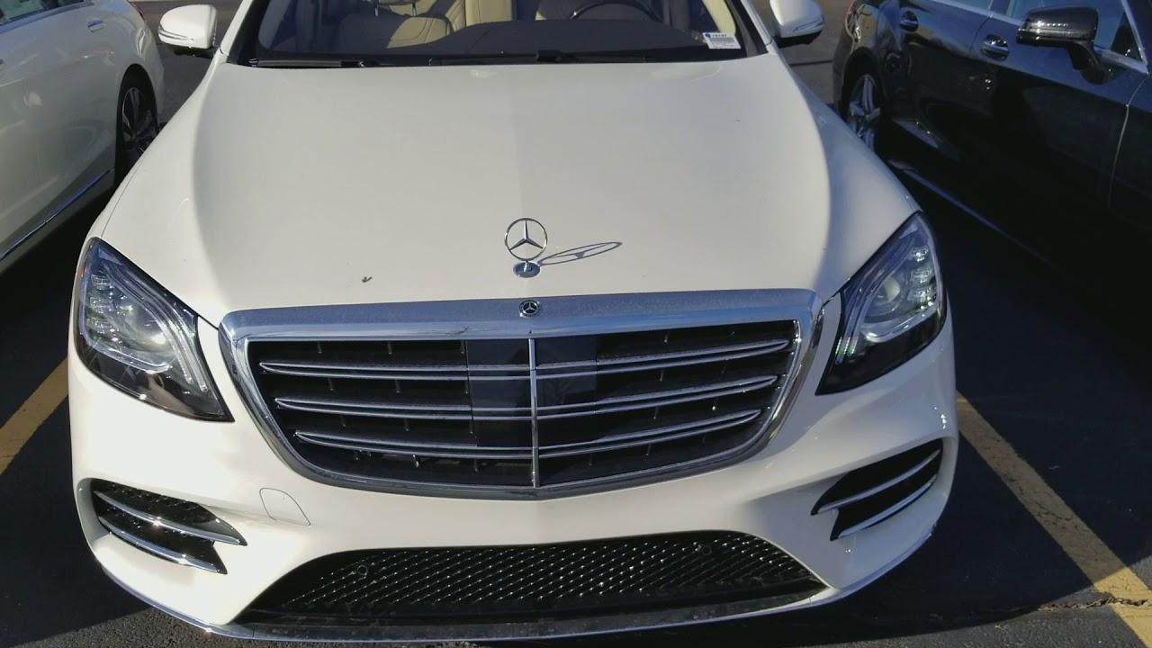 Brand new 2018 mercedes benz s450 4matic 3 0l v6 biturbo for Mercedes benz s450