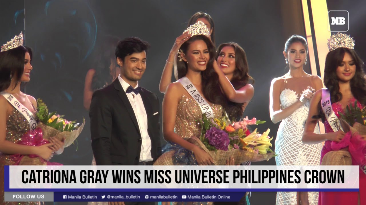 Catriona Gray wins Miss Universe Philippines crown