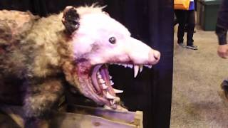 New Animatronics And Props Transworld Halloween 2018