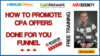 How to promote CPA offers for free without a website | CPA Marketing Funnel