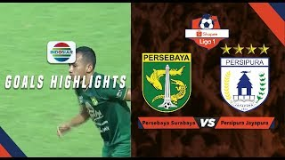 Persebaya Surabaya (1) vs Persipura Jayapura (0) - Goal highlights | Shopee Liga 1