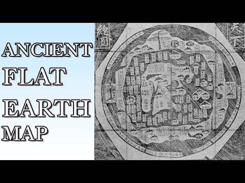 *NEW* ANCIENT CHINESE FLAT EARTH MAP DISCOVERED! (including measurements of earth, sun & moon!)
