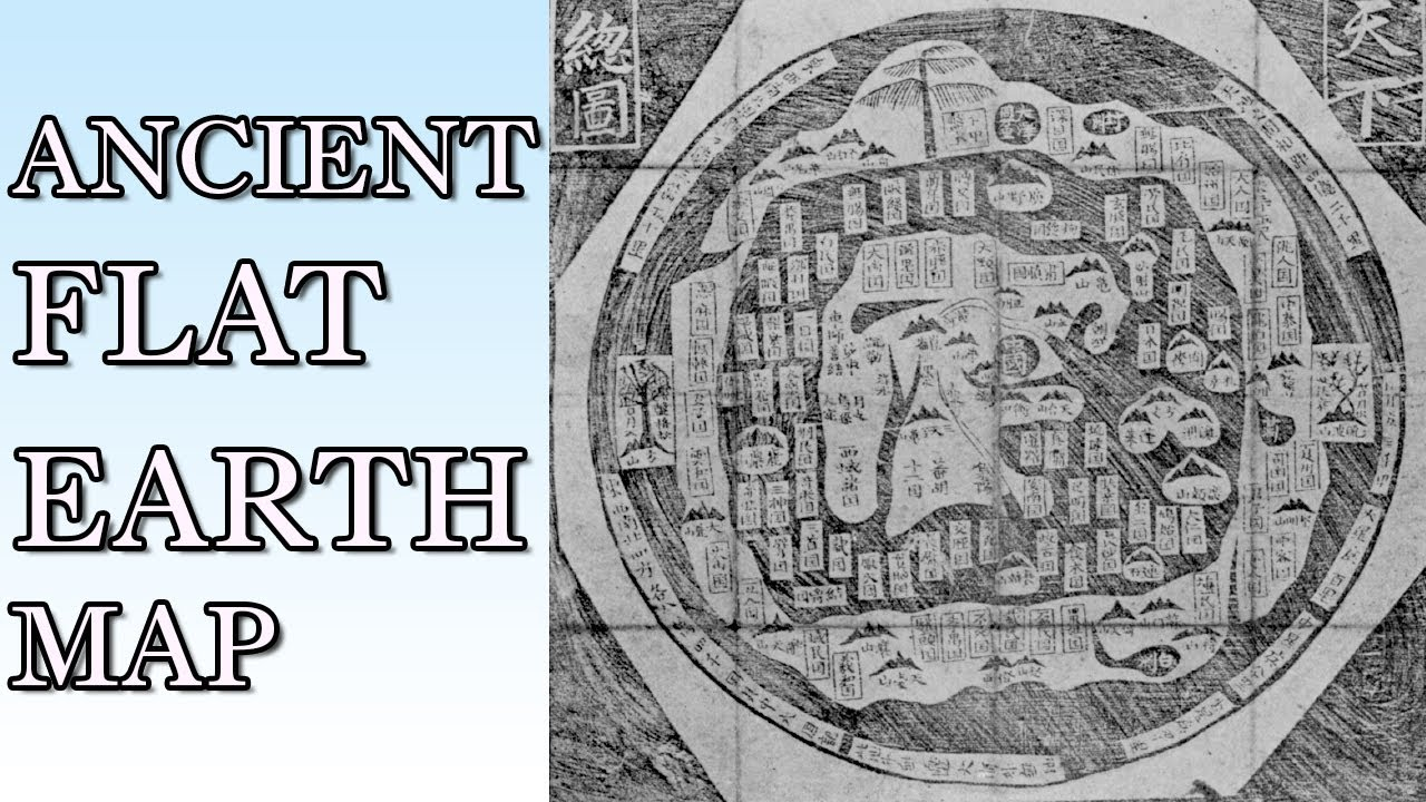 New Flat Earth Map.New Ancient Chinese Flat Earth Map Discovered Including