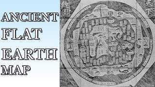 *NEW* CHINESE FLAT EARTH MAP DISCOVERED W/ MEASUREMENTS & DESCRIPTION OF THE FLAT EARTH!